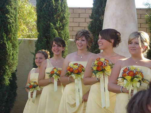 my cousins are the 2nd & 3rd from the left. beautiful!