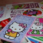 Use Kid's Valentines As Greeting Cards!