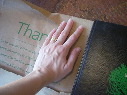 Paper Book Cover Tutorial : A back to school tutorial make paper bag book cover