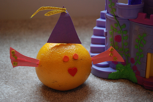 fruit of the spirit orange craft kids
