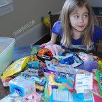 Operation Christmas Child: Packing Shoeboxes!