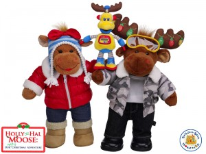 buildabear holly hal moose