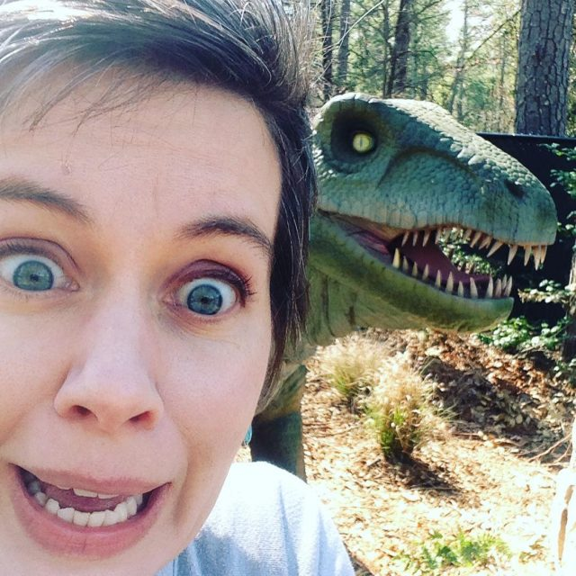Yall! There are real dinosaurs here!! dinosaurexplore17