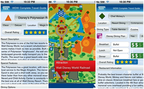 disney world app