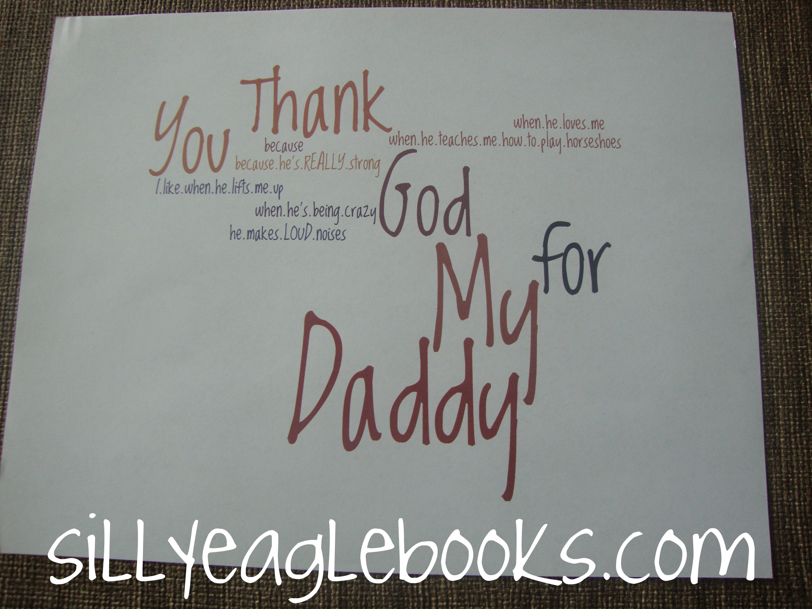 Father S Day Card For Kids