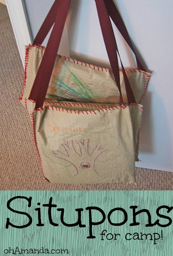 easy situpons for camp