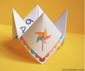 printable cootie catcher