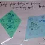 Scripture Alphabet: Letter K