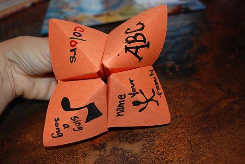 fortune teller craft