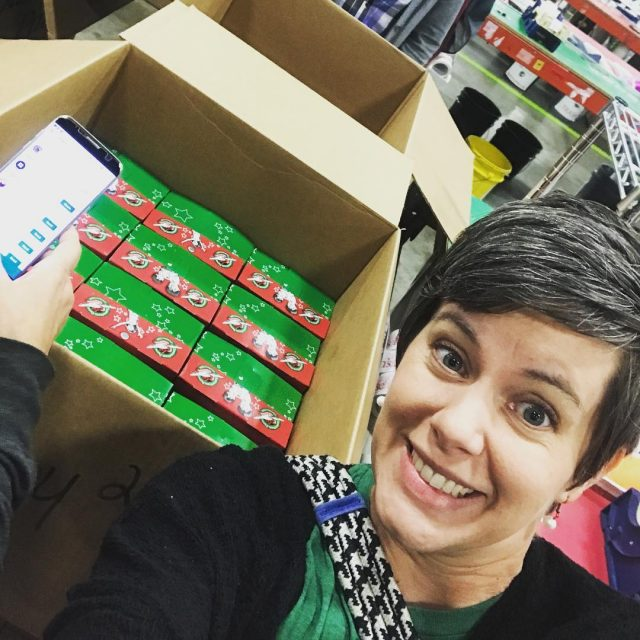 At operationchristmaschild Processing Center in Atlanta today! Follow my storieshellip