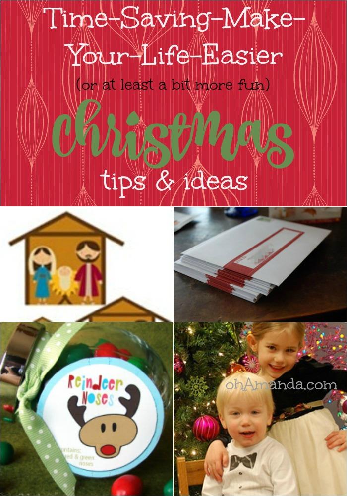 make your life easier christmas tips and ideas // ohamanda.com