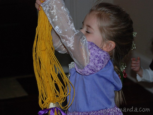 rapunzel birthday decor