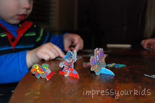 pirate shrinky dinks
