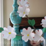 Paper Dogwood Craft