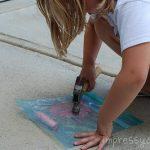 Sidwalk Chalk PAINT {Super Sunny Day}