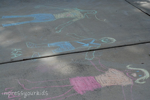 chalk portrait