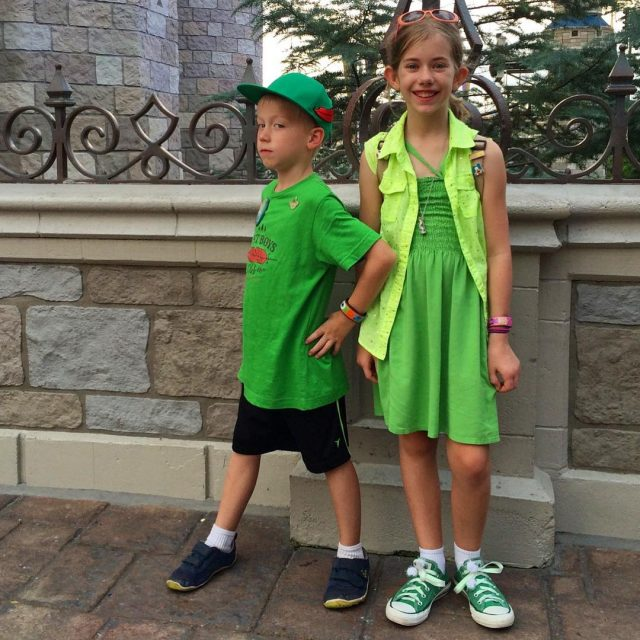Always a great team My disneybounding kiddos as Peter andhellip