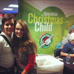 Operation Christmas Child Shoebox Blitz in New York City!