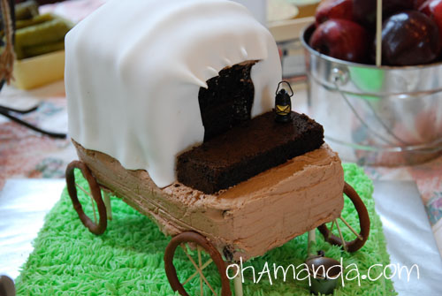 covered wagon cake
