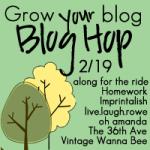 Grow Your Blog Blog Hop Blog Hop