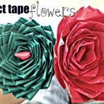 DIY Duct Tape Flower Pen {Perfect Teacher Valentine!}