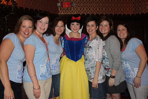 Photo with Snow White