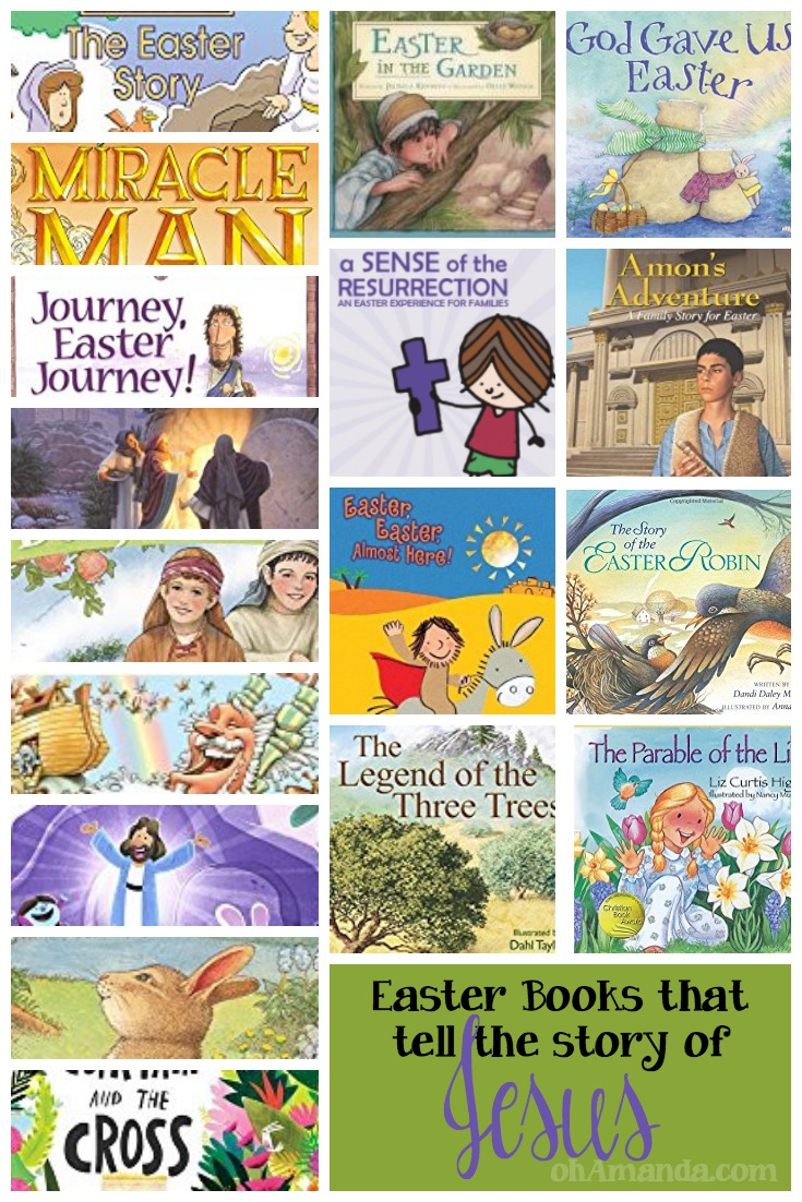 Easter Books that tell the story of Jesus!