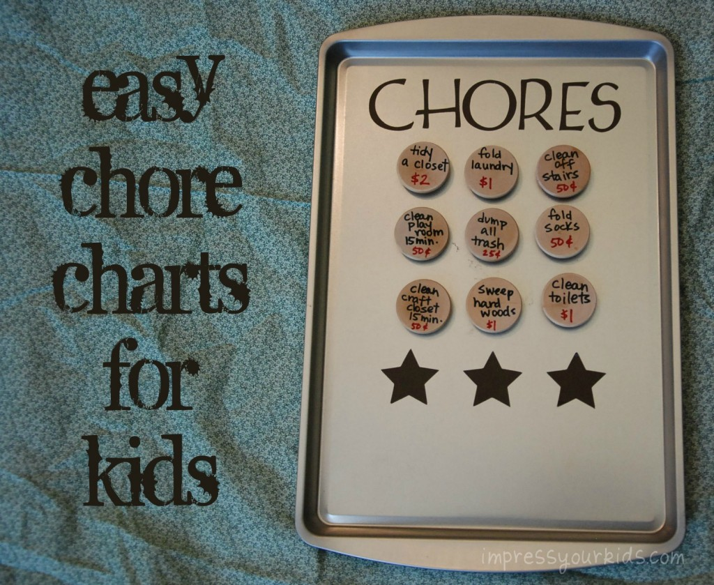 diy chart for chores