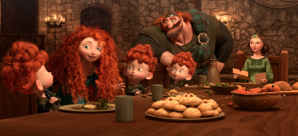 disney pixar merida