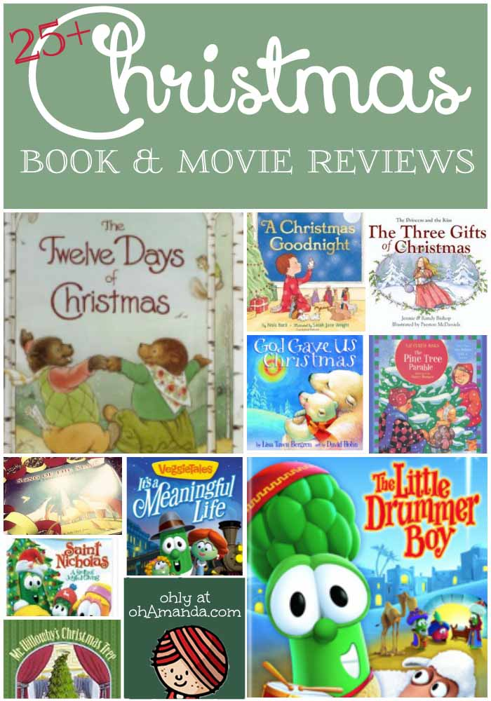 25+ Christmas Books & Movies // reviews from ohAmanda.com