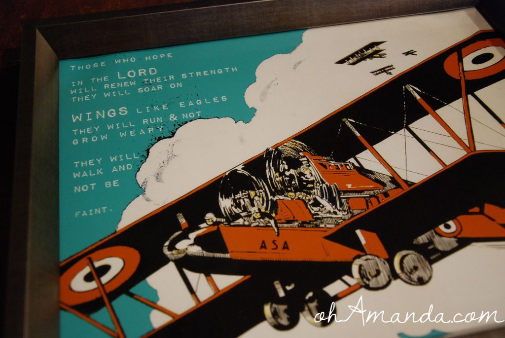 flying ace print from hopeink.com