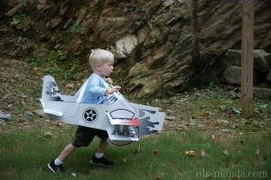 airplane costume