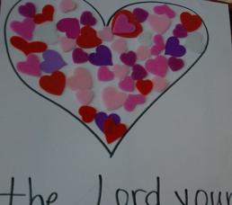Super Hero Series Incredible Love: Deuteronomy 6:5 Memorization