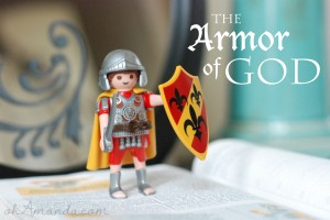 Armor of God family devotions from ohAmanda.com