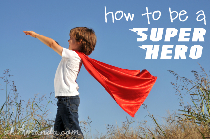 How To Be a Super Hero {Series}
