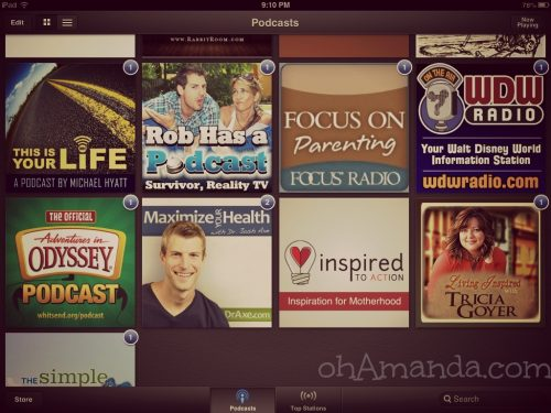 fave podcasts