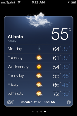 atlanta weather