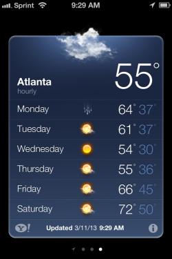 atlanta weather