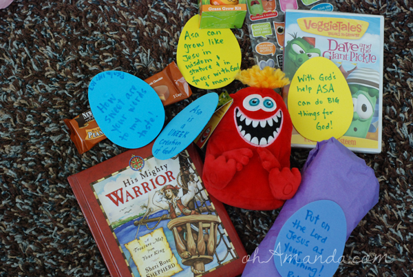 Jesus-centered easter basket gifts for boys
