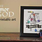 Armor of God FREE Printable Art