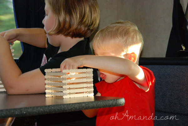 abraham lincoln's log cabin activity for kids