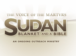 Blanket & a Bible for people in Sudan // Voice of the Martyrs #monthlymission