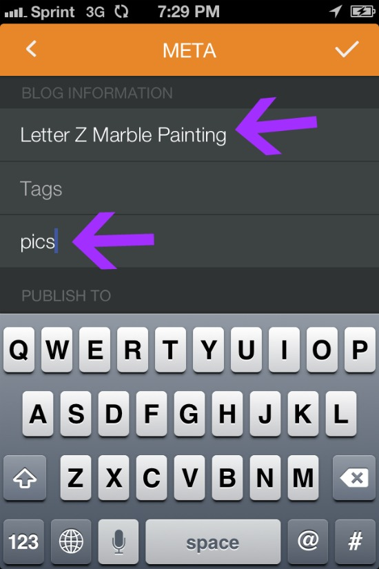 how to use pressgram for your blog