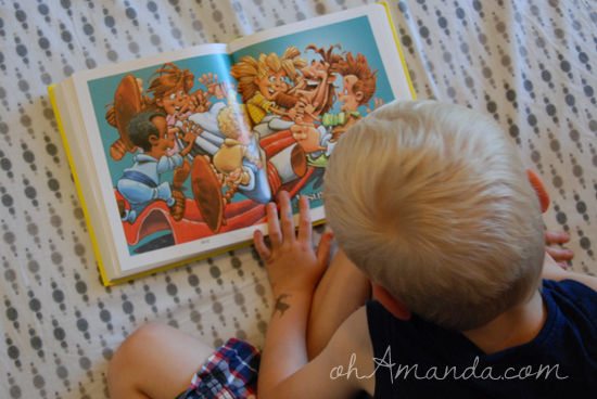 Fabulous Bible with no words for kids // part of the #31days Best Bible Books for Kids series at ohAmanda.com