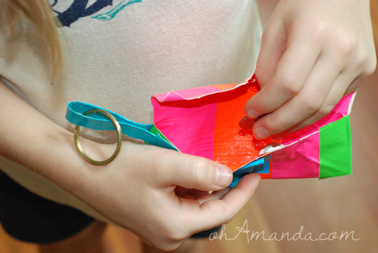 duct tape tshirt crafts 8