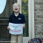 Asa's First Day of Kindergarten