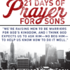 21 days prayers sons