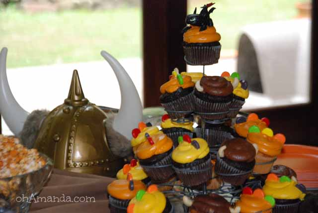 How To Train Your Dragon Viking Party 013