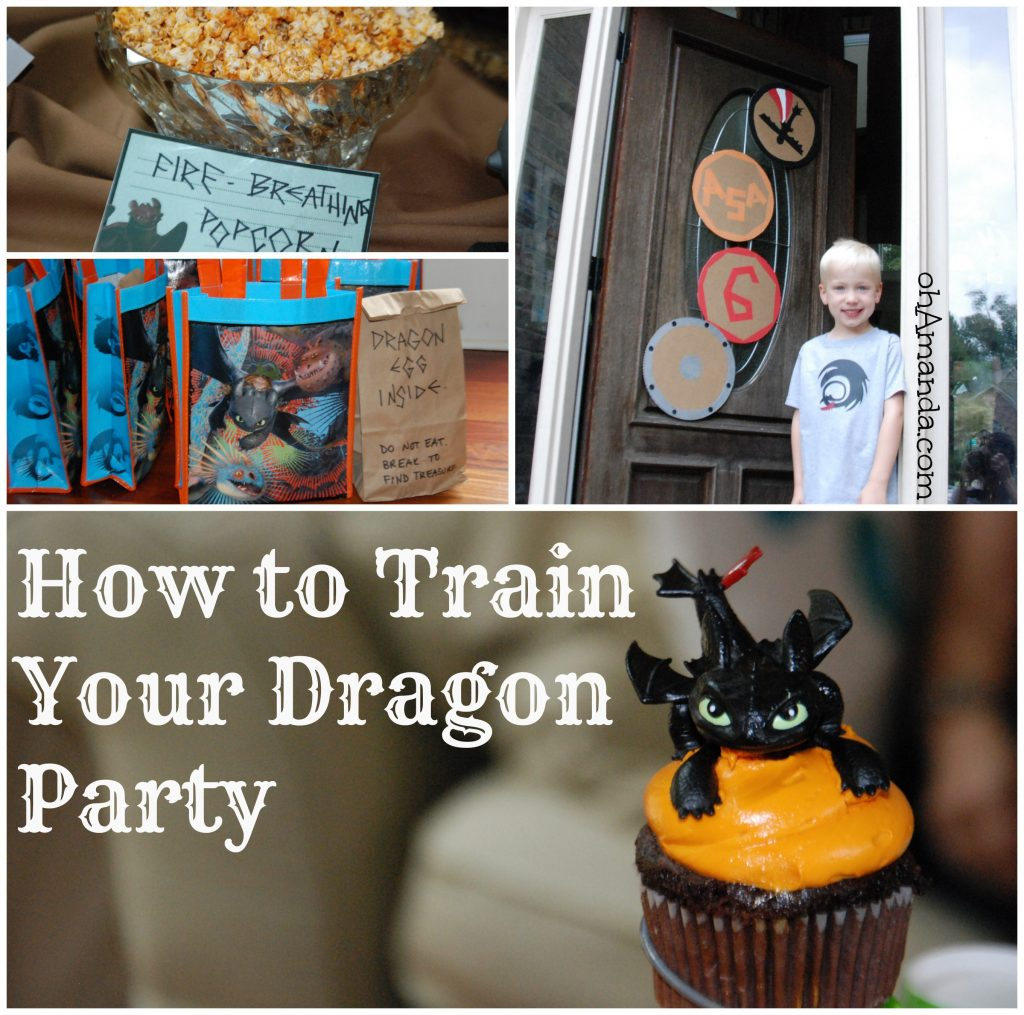 How To Train Your Dragon / Viking Party // ohAmanda.com