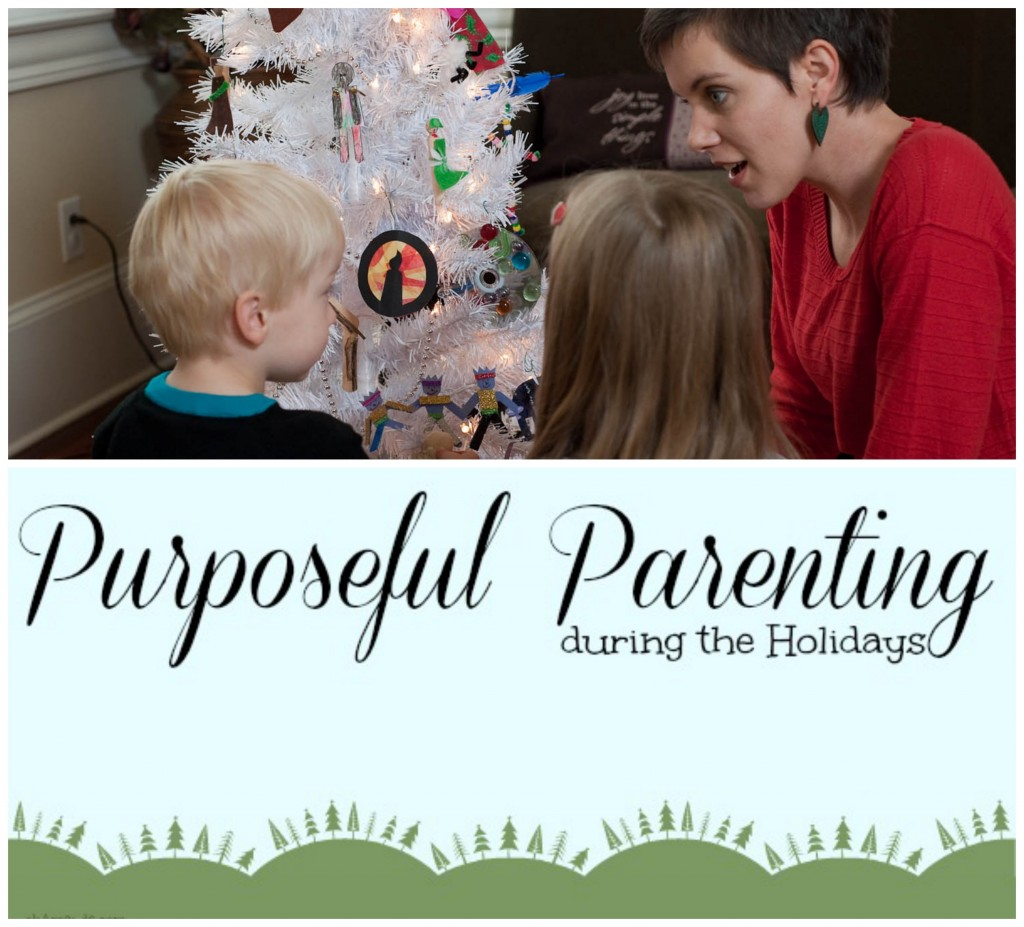 parenting holidays pin